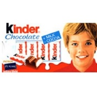 <strong><center>Kinder Chocolate Bars</center></strong>