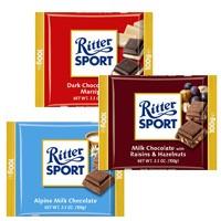 <strong><center>Ritter Sport Bars</center></strong>