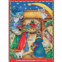 <strong><center>German Nativity Advent Calendar</center></strong>