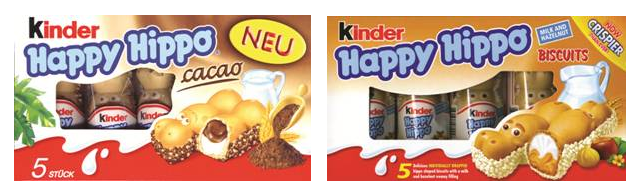 Kinder Hippo Bars