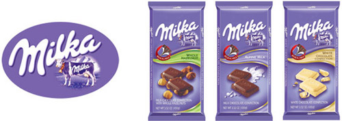Milka Chocolate Bars